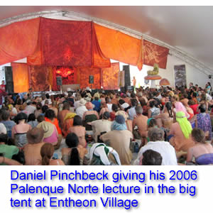 Palenque Norte Lecture at the 2006 Burning Man Festival