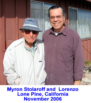Myron Stolaroff and Lorenzo