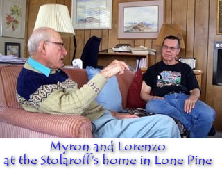 Myron Stolaroff and Lorenzo Hagerty