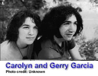 Carolyn and Gerry Garcia
