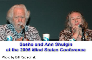 Sasha and Ann Shulgin