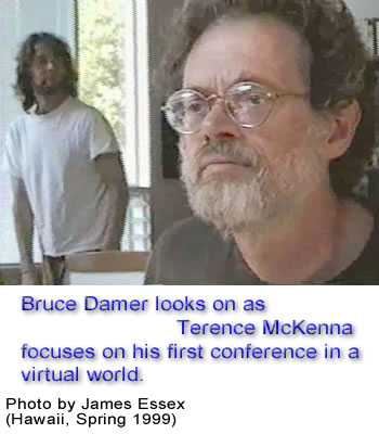 Bruce Damer and Terence McKenna