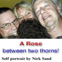 Lorenzo with Usha & Nick Sand