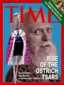 Robert Anton Wilson on the cover of Time Magazine