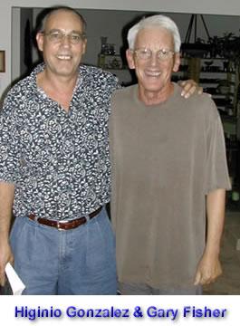 Higinio Gonzalez and Gary Fisher