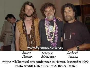 Bruce Damer, Terence McKenna, & Roberto Venosa