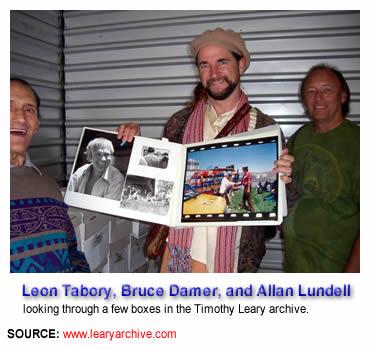 Leon Tabory, Bruce Damer, & Allen Lundell