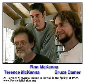 Terence McKenna, Finn McKenna, & Bruce Damer