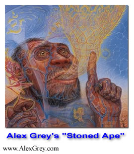 "Alex Grey's ""Stoned Ape"""