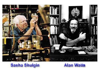 Sasha Shulgin - Alan Watts