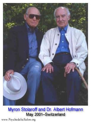 Myron Stolaroff & Albert Hofmann