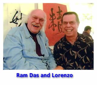 Ram Das & Lorenzo Hagerty
