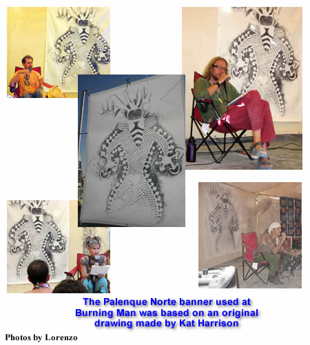 Palenque Norte Lectures at Burning Man