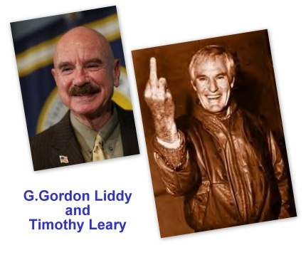 G. Gorden Liddy & Timothy Leary