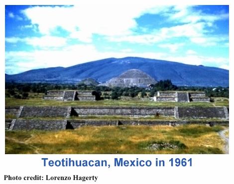 Teotihuacan in 1961