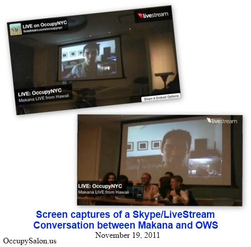 Makana and Occupy Wall Street