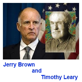 Jerry Brown & Timothy Leary