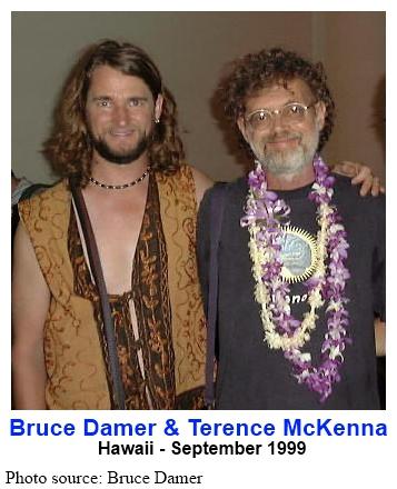 Bruce Damer & Terence McKenna