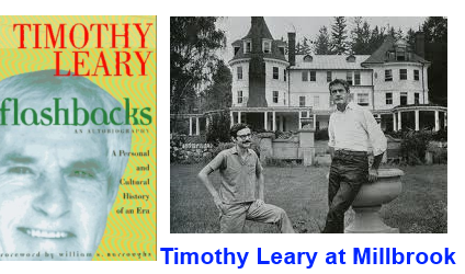 Timothy Leary at MIllbrook