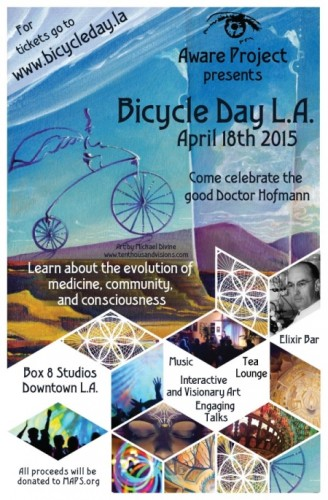 Poster: Bicycle Day 2015
