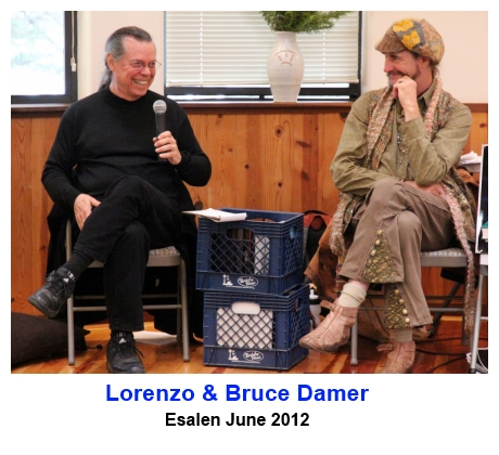 Lorenzo & Bruce Damer speaking at Esalen - June 2012