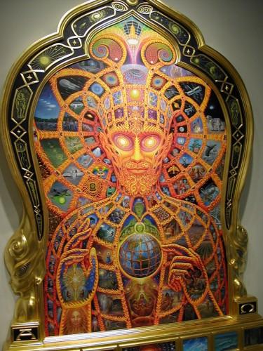 Cyber Christ by Alex Grey