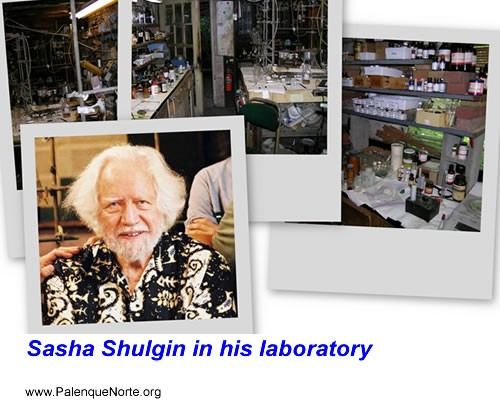 Sasha Shulgin and his laboratory