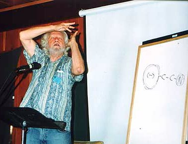 "Sasha Shulgin drawing his ""dirty pictures"""