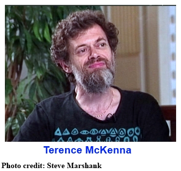 Terence McKenna - photo credit: Steve Marshank
