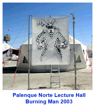 Palenque Norte Lecture Hall 2003 Burning Man Festival