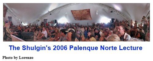 The Shulgin's 2006 Palenque Norte Lecture