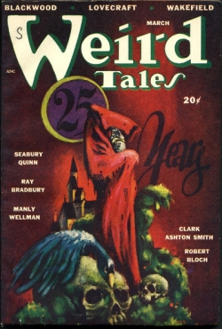 Weird Tales Cover - March 1948