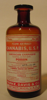Tincture of Cannabis from Parke, Davis & Co.