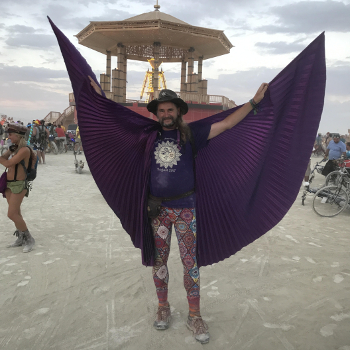 Bruce Damer at Burning Man 2017
