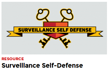 Electronic Self Defence Tools from EFF