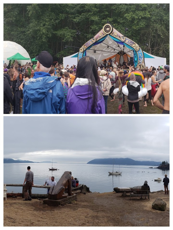 Main Stage & Lakefront Imagine Orcas Island Music & Arts Festival