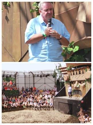 Dr. David Nutt speaking at the 2016 Glastonbury Festival