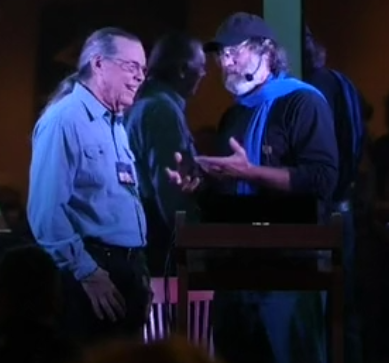 Lorenzo and Paul Stamets March 2019 - Orcas Island