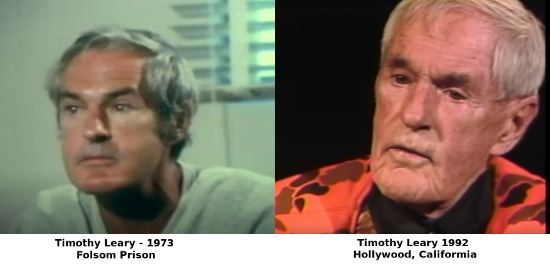 Timothy Leary1973 and 1992