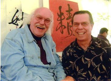 Ram Dass & Lorenzo circa: 2001