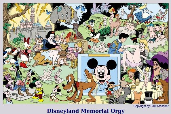 Disneyland Memorial Orgy Poster